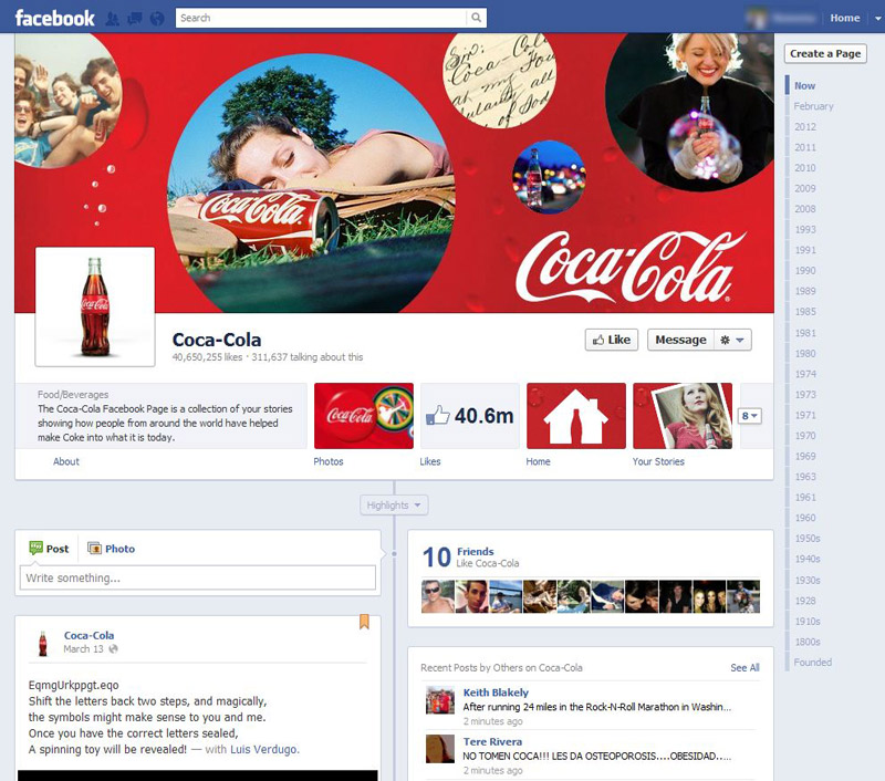 Five things your company needs to know about Facebook Timeline for Brands - New Business Media